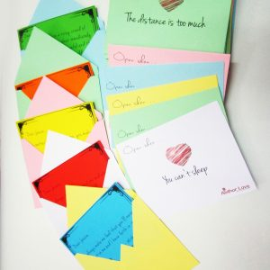 50 Colorful Love Letters Personalized Gift Pack 2