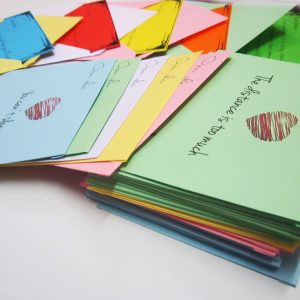 50 Colorful Love Letters Personalized Gift Pack 3