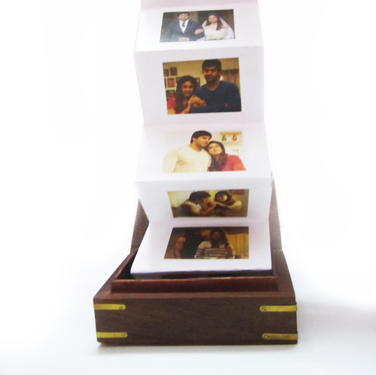 Love Box Photo Chain Personalized Gift Author Love