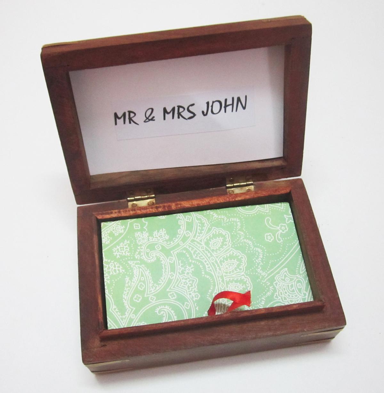Love Box Photo Chain Personalized Gift