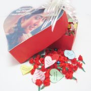 Heart Shaped Love Box - 500 Things I love about you!