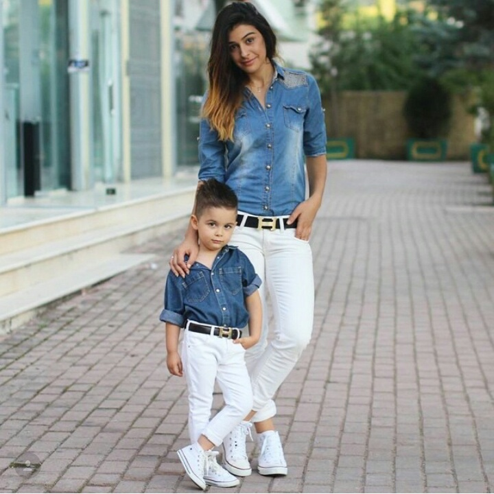 CUTE MOMMY AND SON COMBO (7)