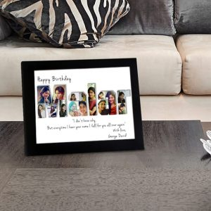 Personalized Name Photo Collage Gift 1