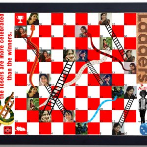 Personalized Snakes and Ladders Gift 2