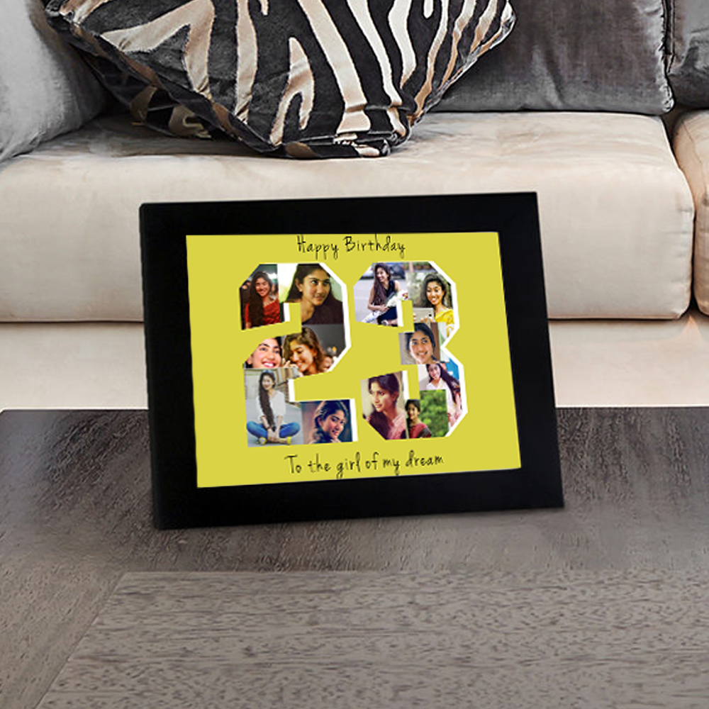 Personalized Special Day Photo Frame Gift Author Love
