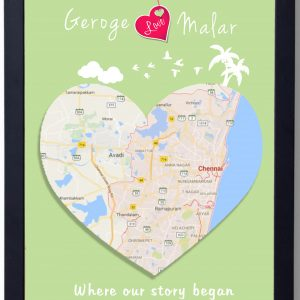 were our story began frame