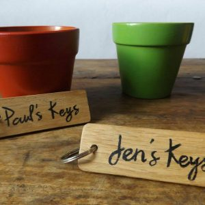 Home Keyring Set for Couples