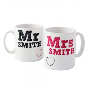 Personalised Mr and Mrs Mugs 1