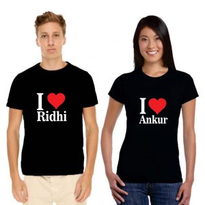 Couples T-shirt 1