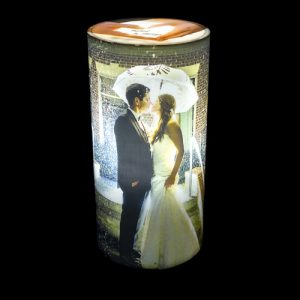 Personalize Cylindrical photo Lamp 1