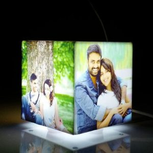 Personalized photo cube lamp 1