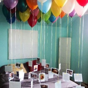 Bring your memories back with balloons too