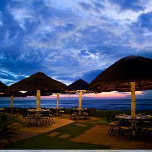 Dine by the beach