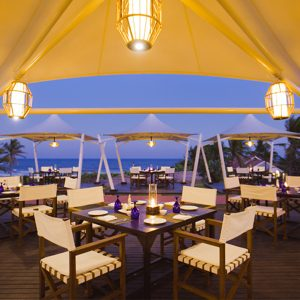 Romantic dinner at upper deck