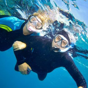 Snorkelling for two1