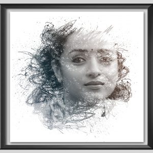 Pencil photo effect - Frame