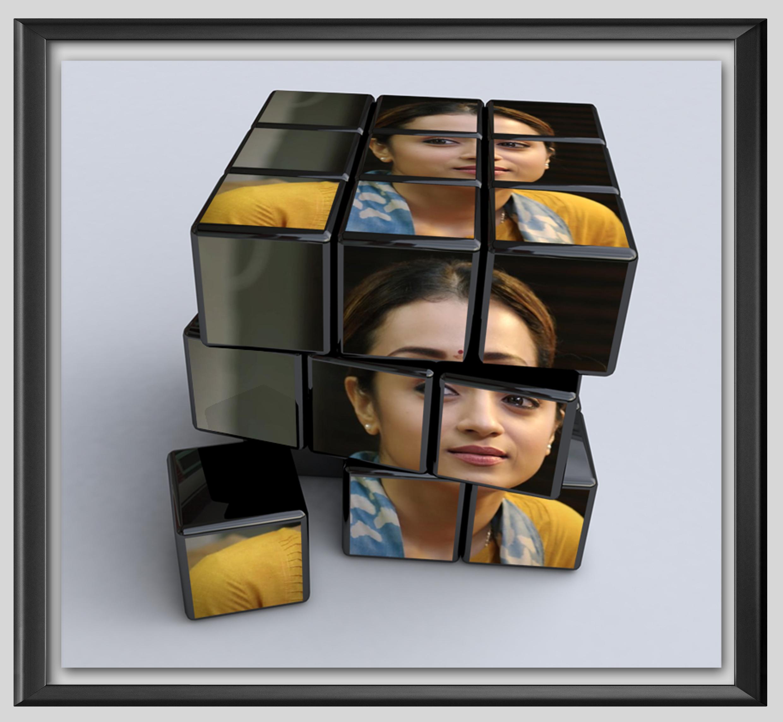Rubik Cube Photo Effect Author Love