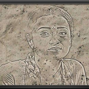 Sand photo effect - Frame